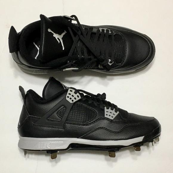 9f4b55145 Nike Air Jordan 4 IV Retro Metal Baseball Cleats. M 5abbf8fcf9e501c7af62d37f